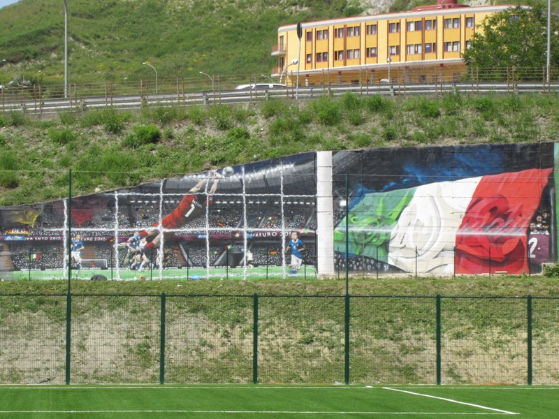 campo figc mural